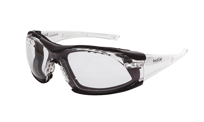 Bolle Rush Seal Clear Safety Glasses