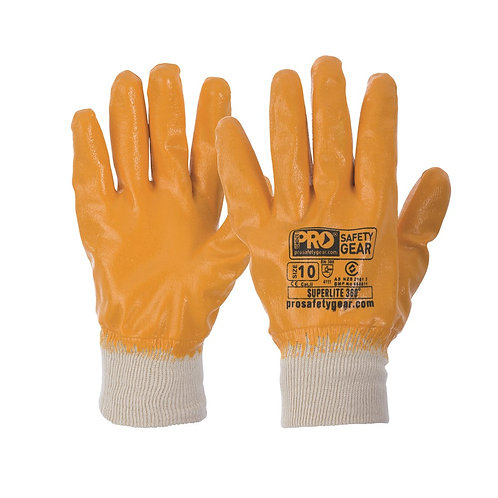 Fully Dipped Nitrile Gloves