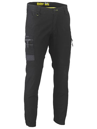 Bisley Flex  & Move Stretch Cargo Cuffed Pants Black