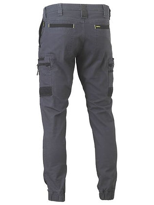 Bisley Flex & Move Stretch Cargo Cuffed Pants Charcoal