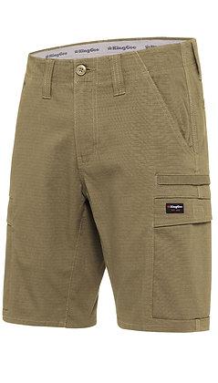 King Gee Workcool Pro Shorts Khaki