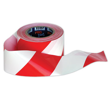 Red & White Barricade Tape