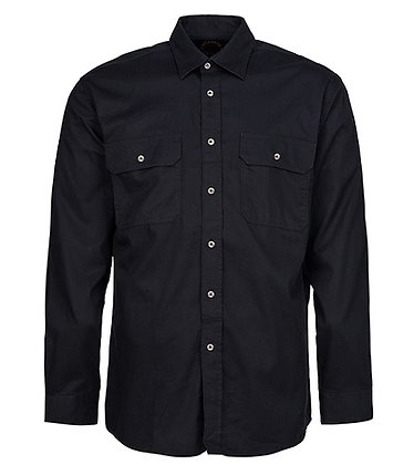 Pilbara Collection Mens Work Shirt Black