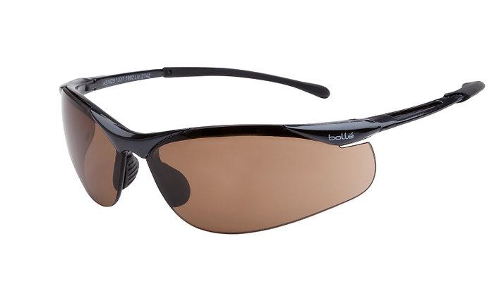 Bolle Contour Bronze/Smoke Safety Glasses