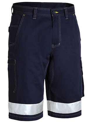 Bisley Taped Cool Vented Cargo Short Navy