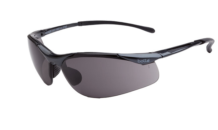 Bolle Contour Smoke Safety Glasses