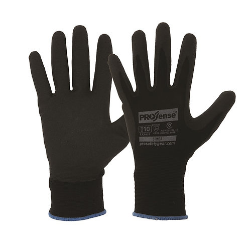 PVC Foam Coated Gloves