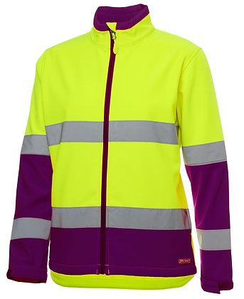 Ladies Hi Vis Water Resistant Jacket