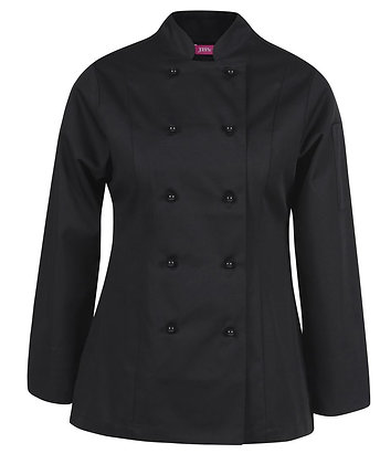 Ladies Vented Chef's Jacket Long Sleeve