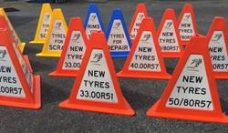 OSP custom cones 3