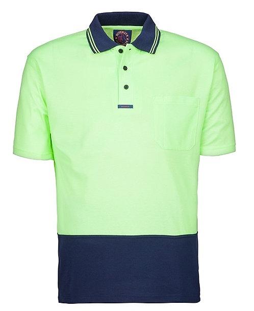 Hi Viz Short Sleeve Polo