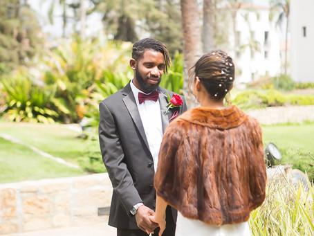 Santa Barbara Courthouse wedding Mikeala & Raynol