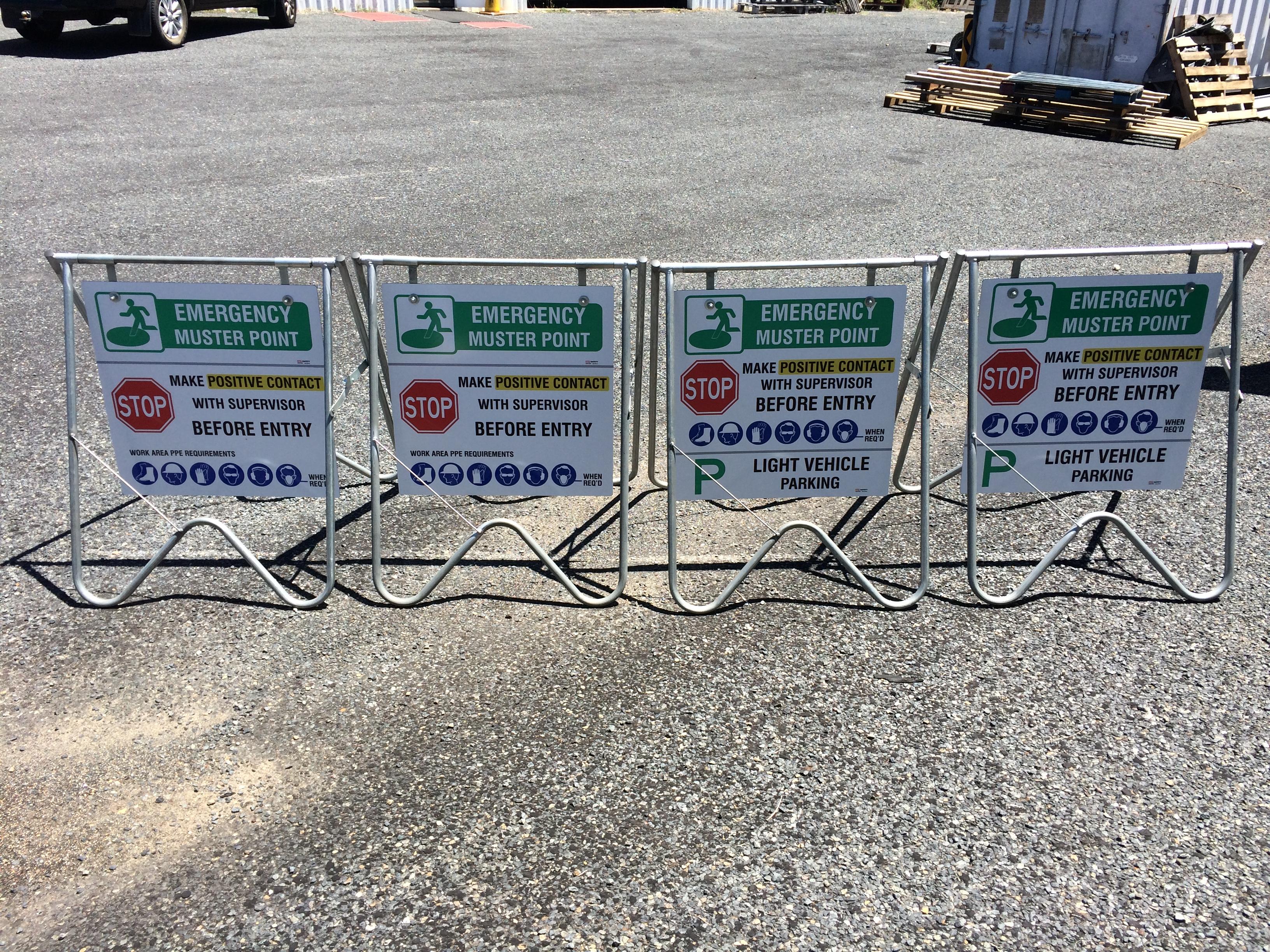 Custom Signage - Swingframe