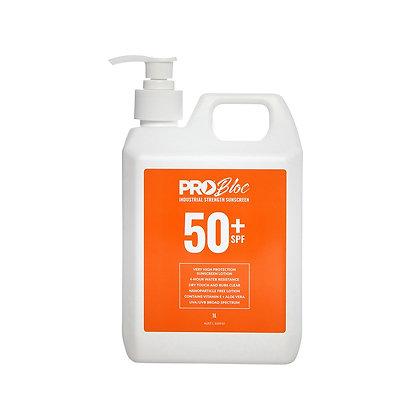PROBLOC SPF 50 + Sunscreen 1L Pump Bottle