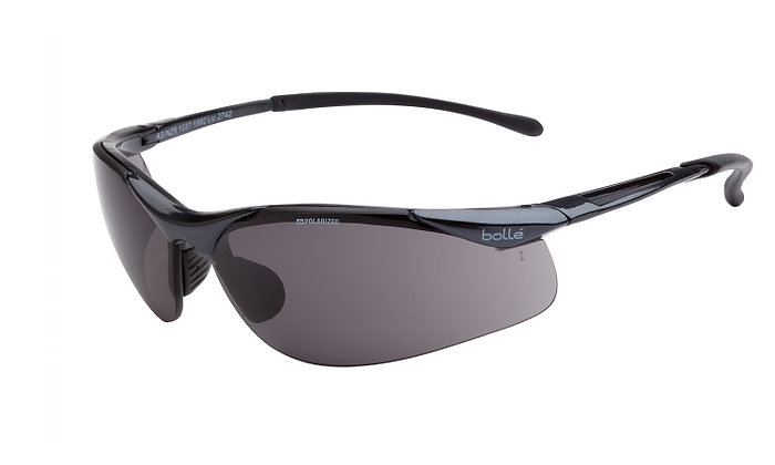 Bolle Contour Grey Polarised Safety Glasses