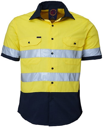 S/S Work Shirt with 3M Tape