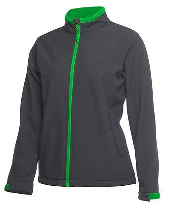 Podium Ladies Water Resistant Softshell Jacket Green