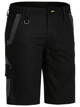 Bisley FLX & MOVE™ Stretch Cargo Short Black