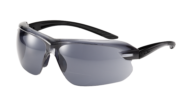 Bolle IRI-S Diopter Bifocal Smoke Safety Glasses