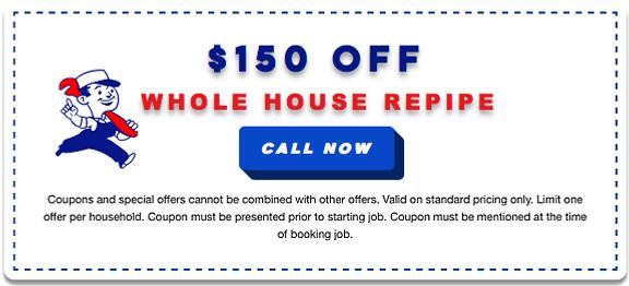 repipe coupon plumbing