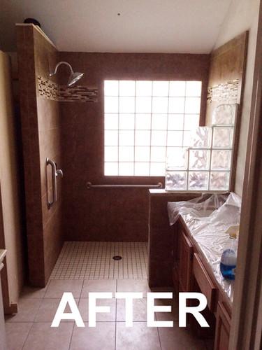 After Full Bathroom Remodel