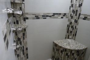 walk in large shower