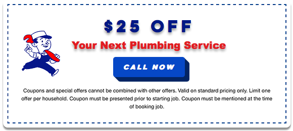 coupon for plumbing service