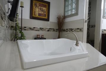custom jacuzzi tub remodel