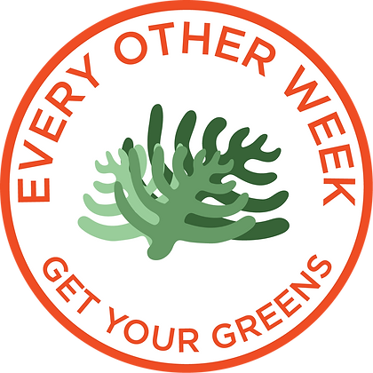 Get Your Greens Every Other Week