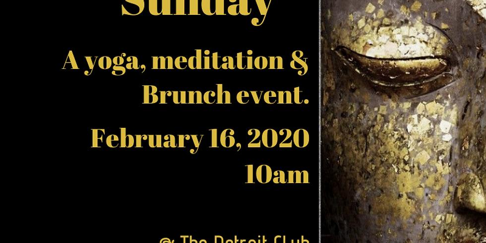 Samadhi Sunday Breath, Move, Nourish...