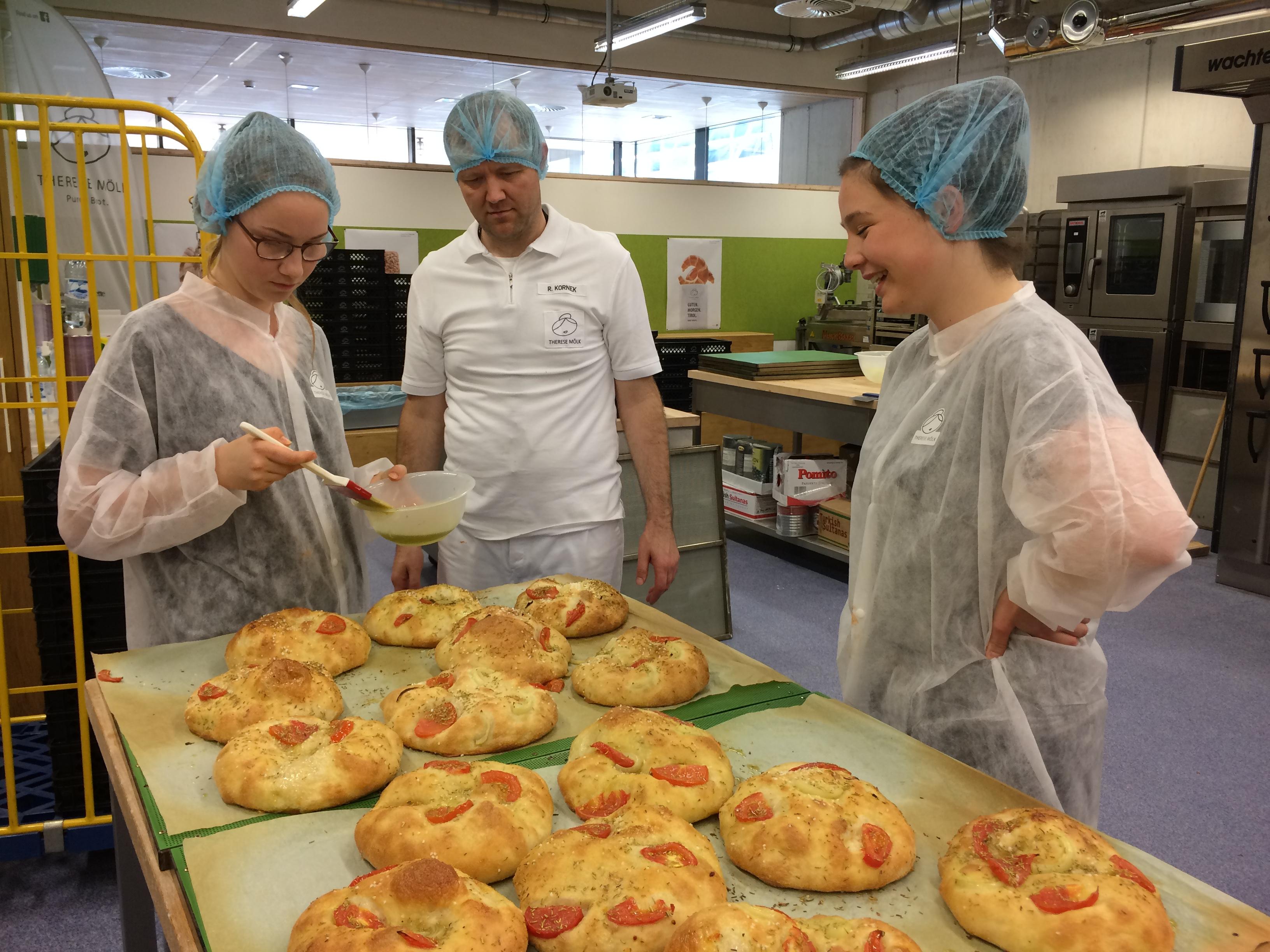 Therese Mölk Bäckerei Waldorfschüler