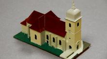 Une maquette en 4 jours, une église modélisée et imprimée en 3D.
