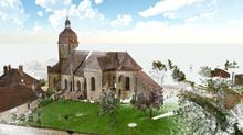 L'église de Breurey lès Faverney