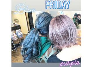 BLEACH×Blue×Purple×Green