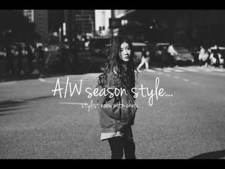 18-19 A/W season style