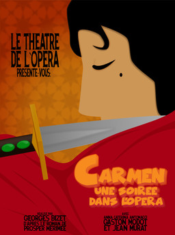 Opera poster  Made using Adobe Illustrator