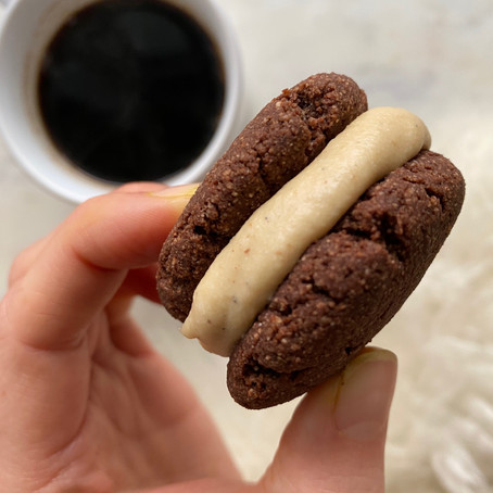 Faux-eo Chocolate Creme Cookies