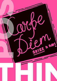 Carpe Diem Poster - Different Mornings -