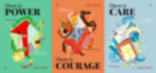 Poster Display - Tumaini - Laughing Popc