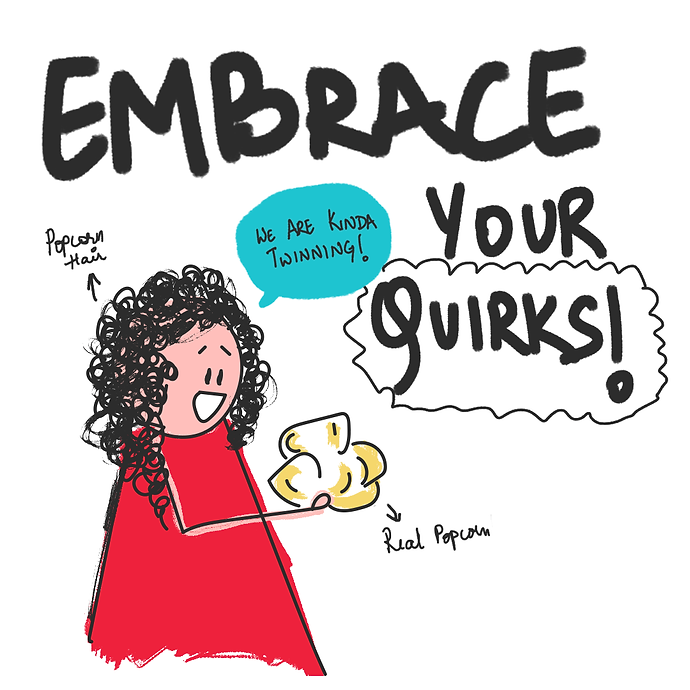 Embrace-Your-Quirks-Laughing Popcorn