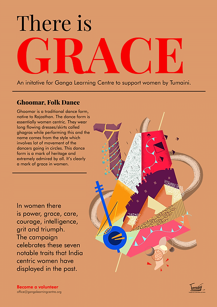 Poster With Info - Ghoomar - Tumaini - L