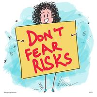 Take-Risks-Laughing Popcorn