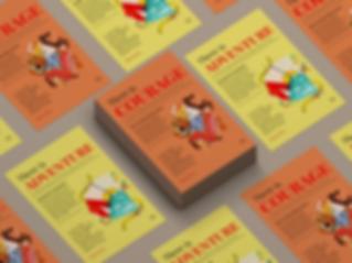 Poster Display Full Spread - Tumaini - L