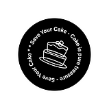 Save Your Cake - Logo - Laughing Popcorn