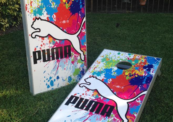 Puma Cornhole Boards