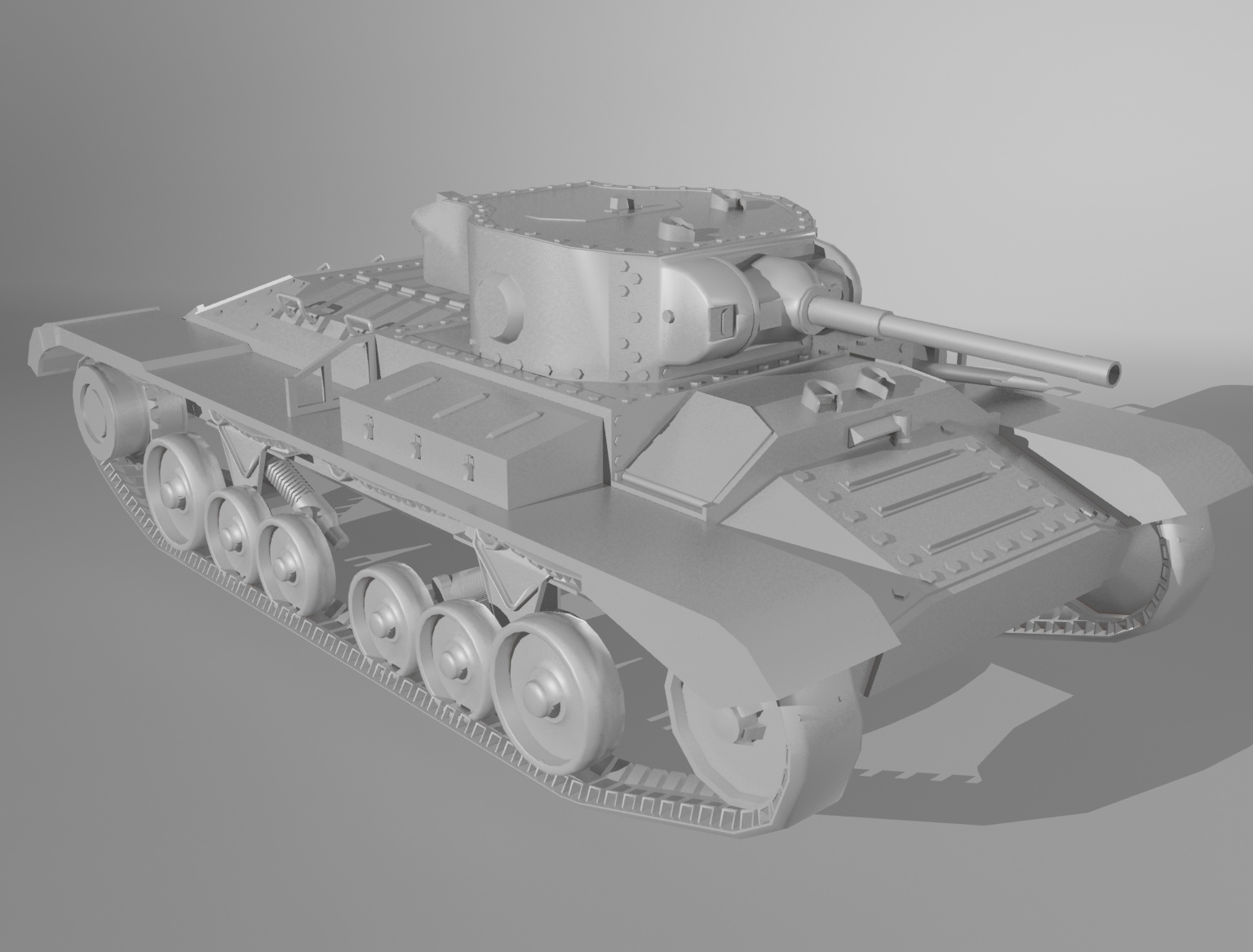Tank_Low_Poly_Render_2
