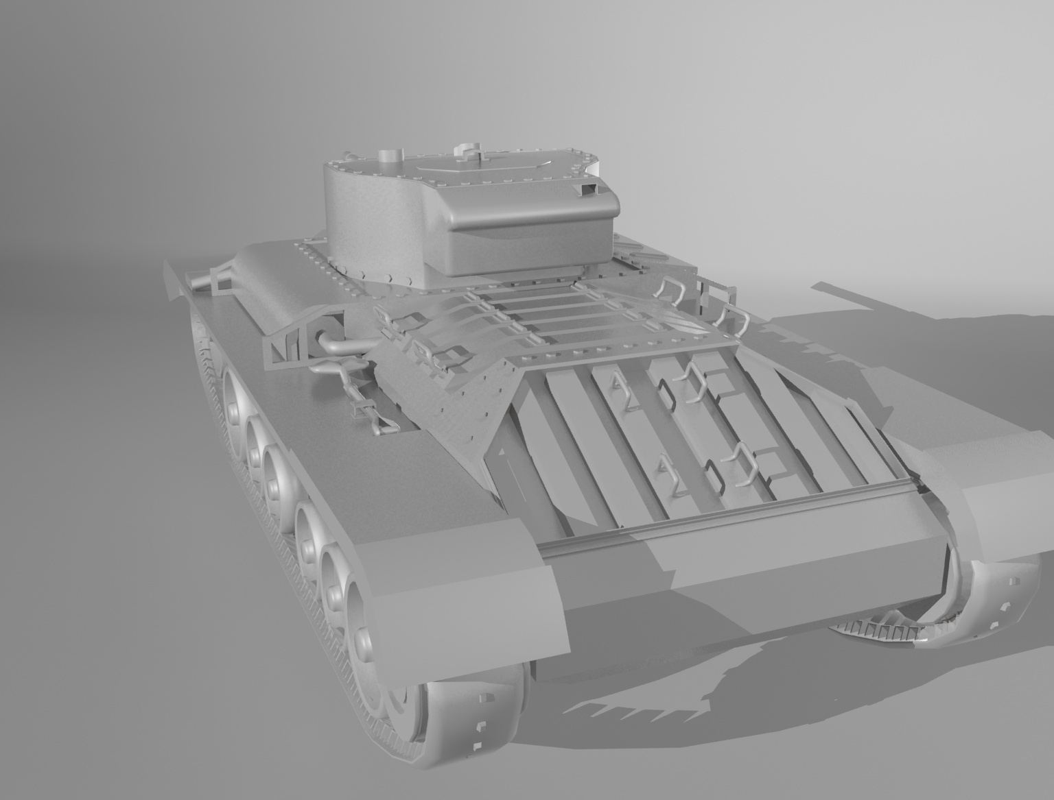 Tank_Low_Poly_Render_3