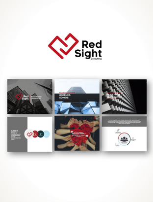 Creación de marca Red Sight