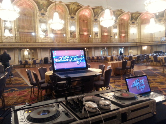 Schiller Chicago Wedding & Event DJs will bring life to your event!!!!