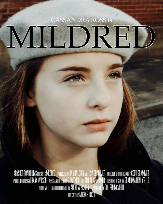 MILDRED - BEST SCREENWRITER OF THE MONTH (JUNE 2018)
